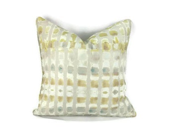 Donghia Frolic in the color Mist Pillow Cover