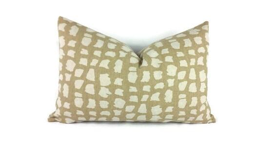 Animal Print Lumbar Pillows : 11.5 x 16.5 Thibaut Animal Print Lumbar Pillow
