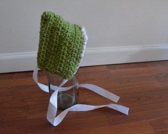 Newborn Baby Crochet Elf Pixie Hat Photography Prop