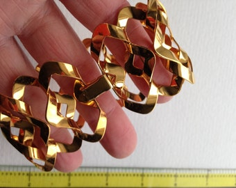 Fun linked Brass Stamping Bracelets-JReady for charms, beads, Jewelry Findings, bracelet stamping
