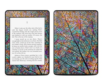 Amazon Kindle Skin - Stained Aspen by Fusion Idol - Sticker Decal - Fits Paperwhite, Fire, Voyage, Touch, Oasis