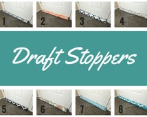 Draft Stopper - Brown Door Draft Stopper- Window or Door Snake - Breeze Blocker