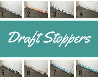Draft Stopper - Brown Door Draft Stopper - Window or Door Snake - Breeze Blocker