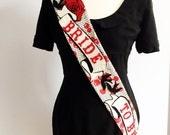 Rockabilly Vintage Bride to Be sash, Hen Party Sash, bachelorette sash