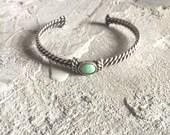 Vintage Turquoise Bracelet Cuff