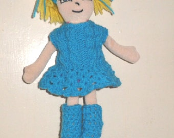 "DOLLS CLOTHES for a 11"" SOFTIE doll."