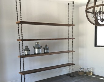 Hanging Wall Bookcase pipe shelving unit the original pipe shelving bookcase