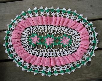 Hand Crochet Doilie