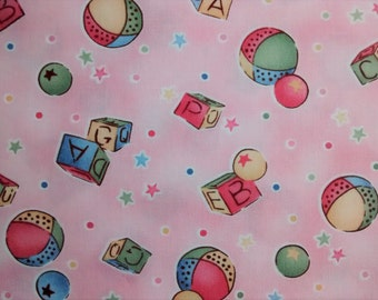 Childrens novelty quilting fabric etsy for Kids novelty fabric