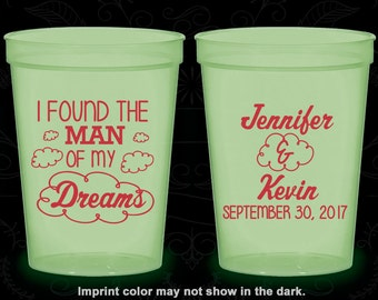 I found the man of my dreams, Promotional Glow in the Dark Cups, Clouds, Glow in the Dark (257)