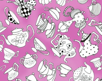 Loralie Designs - Tea Party Hot Pink