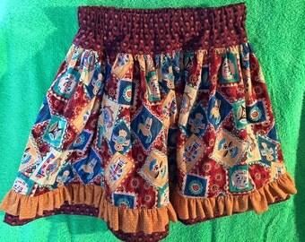 Aztec print skirt - Size 5