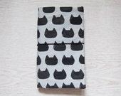 Cat Silhouette Traveler Notebook (Midori standard size)