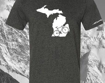 Michigan  Bicycle T Shirt