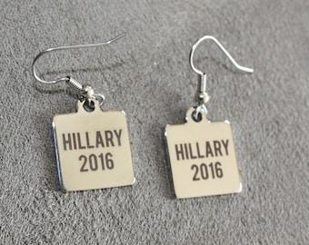 """Hillary Clinton earrings  President 2016 jewelry   earrings ncklace 18"""""""