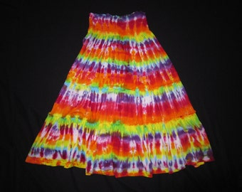Psychedelic Skirt, One Sz Fits All
