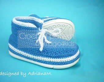 Crochet pattern- outdoor shoes for toddlers,crochet shoes with soles,all children sizes,kids,boys,boots,loafers,moccasins,footwear,laced up