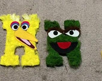 Sesame Street Wooden Letters