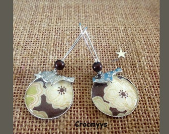 Liberty earring toria brown