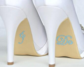 I do shoe stickers something blue