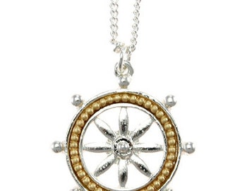Ships Wheel Necklace