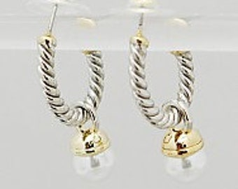 Classic Twisted Cable Earrings - Matches Bracelets