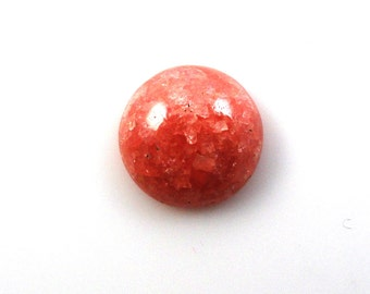 Rhodochrosite Cab Round 14mm  Sale by Best in Gems (11282)