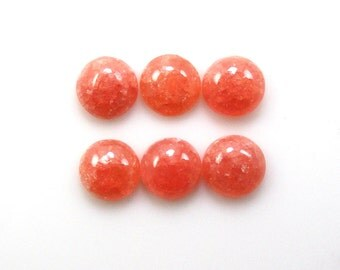 Rhodochrosite Cab Round 7mm  Sale by Best in Gems (11285)