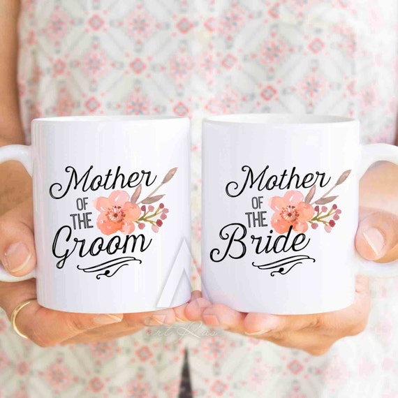 Unique Wedding Gifts For Parents Of The Bride And Groom : bride and groom gifts, personalized wedding mug set, gifts for mother ...