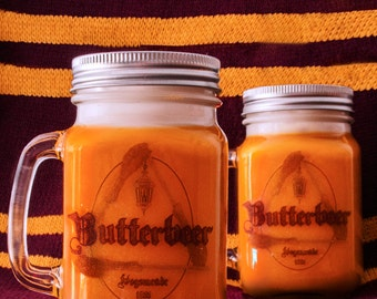 Harry Potter Inspired Butterbeer Soy Candle