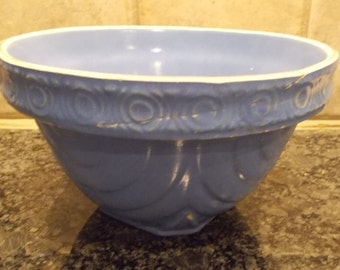 McCoy Blue Mixing Bowl 25-2-7