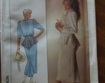 Simplicity 8223, McClintock designed, size 10, dress, misses, womens, UNCUT sewing pattern, craft supplies