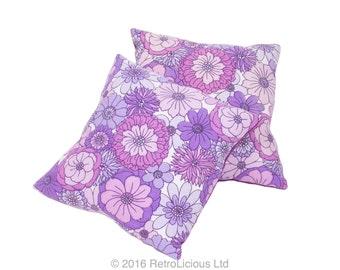 "45cm (18"") Handmade Retro Vintage Fabric Cushion"