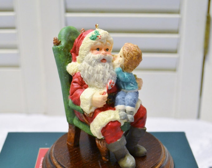 Hallmark Secrets For Santa Christmas Decoration Collectors Club Collectible Holiday Decor PanchosPorch