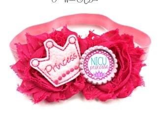 Preemie Headband, NICU Baby, NICU Bow, Preemie Hair Bow, Preemie Baby, Preemie Girl, NICU Graduate, Nicu Hair Bow, Preemie Take Home