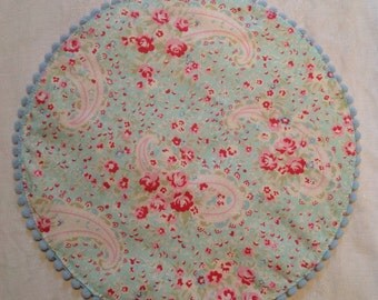 Placemat, Tanya Whelan, fabric hand made.