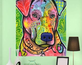 Labrador Retriever Dog Dean Russo Wall Decal - #57628
