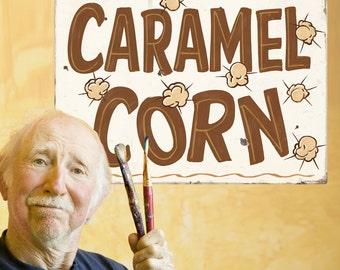 Caramel Corn Carnival Food Wall Decal - #59418