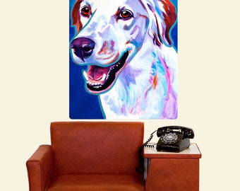 Llewellin Setter Cheetah Dog Wall Decal - #59984