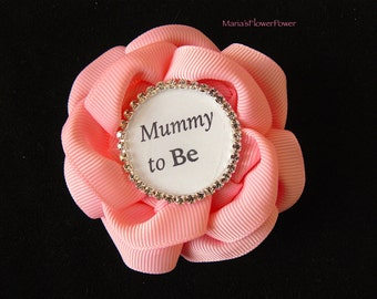 Pink Baby Girl Shower Decorations,Mummy to Be, Mom to Be, New Grandma Gift, Personalised Baby Shower Gift. Personalised Baby Shower Party