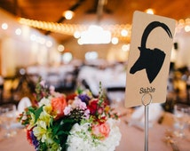 Custom Table Numbers - Design of your choice!