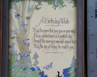 A Birthday Wish Motto