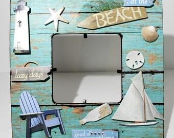 Beach/ Shore /Ocean /Summertime /Picture Frame