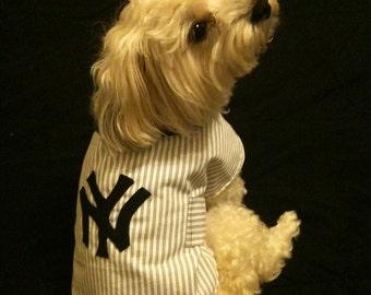 NY Yankees Dog Shirt