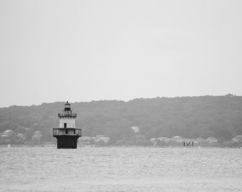 Lone Lighthouse - Fine Art Photography - Original 16x24 Photo
