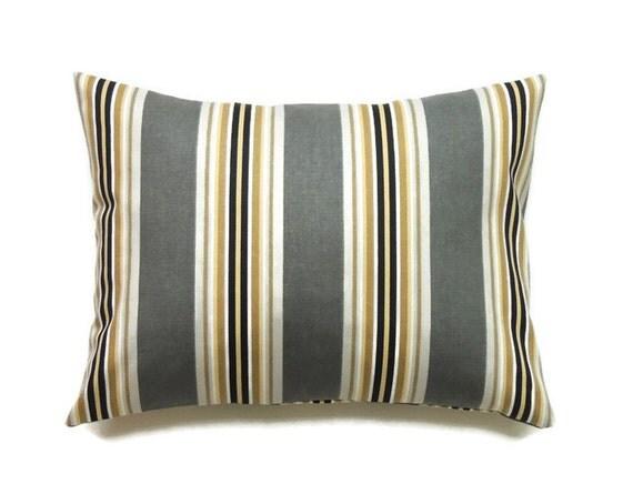 Decorative Pillow Cover 12x16 : Gray Lumbar Pillow Cover 12x16 Pillow Cover Decorative