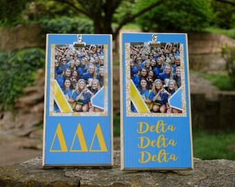 Delta Delta Delta Clip Frame