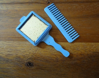 Doll mirror & comb