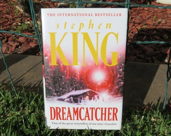 Hollow Book Safe 'DreamCatcher' Stephen King - Handmade, Secret Storage, Valuables, Letters