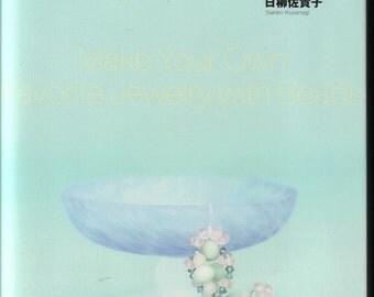 No.27 Women accessories bracelet necklace Japanese eBook Pattern - Instant Download PDF
